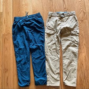 Two pairs of Zara boys pants size 9/10